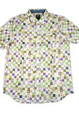 VANS VANS X FROG SS BUTTON UP - WHITE