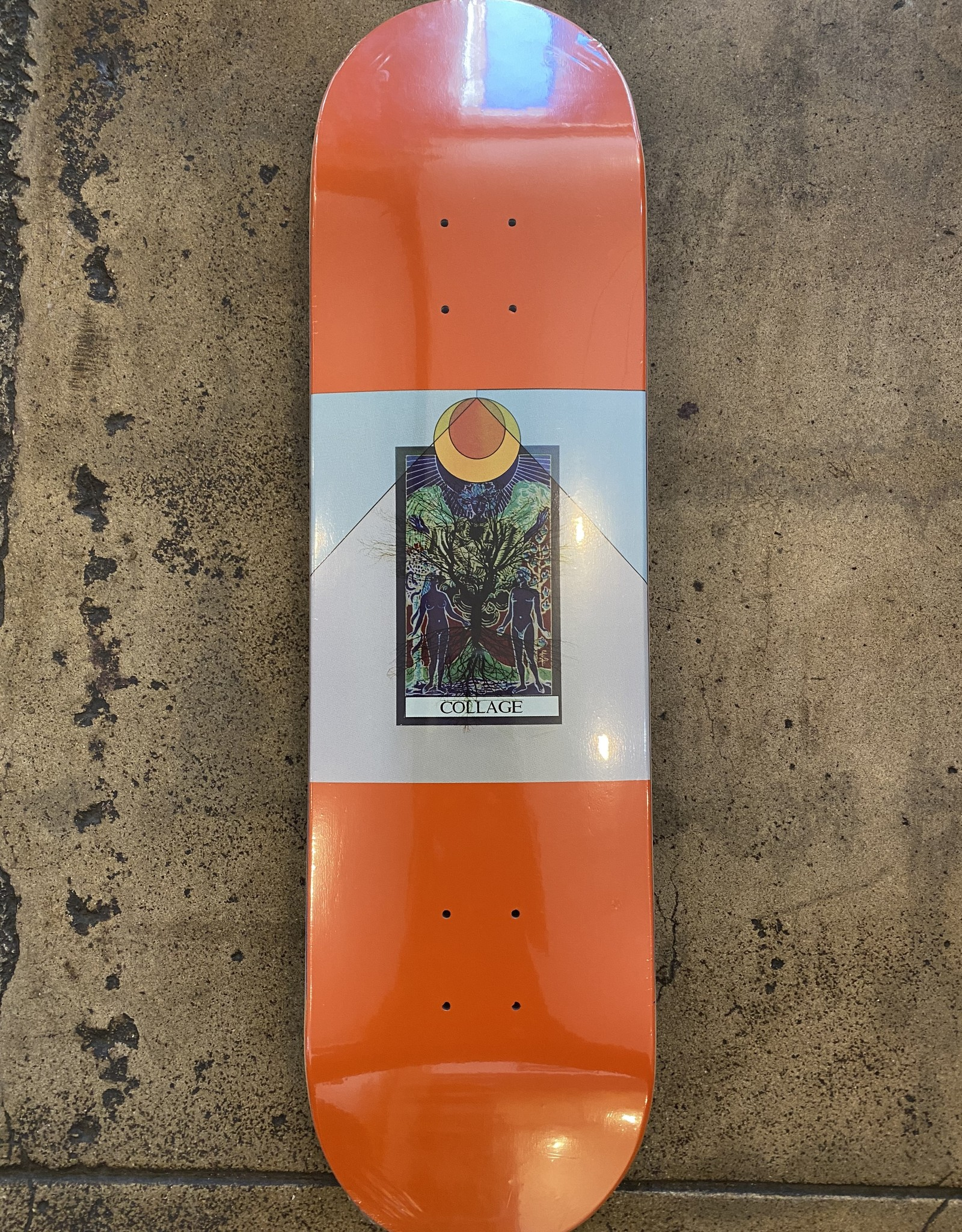 COLLAGE SKATEBOARDS COLLAGE EDEN DECK - (ALL SIZES)