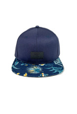 VANS VANS ALL OVER IT SNAPBACK HAT - DRESS BLUES/CALIFAS