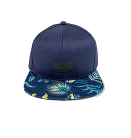 VANS VANS ALL OVER IT SNAPBACK HAT - DRESS BLUES/CALIFAS