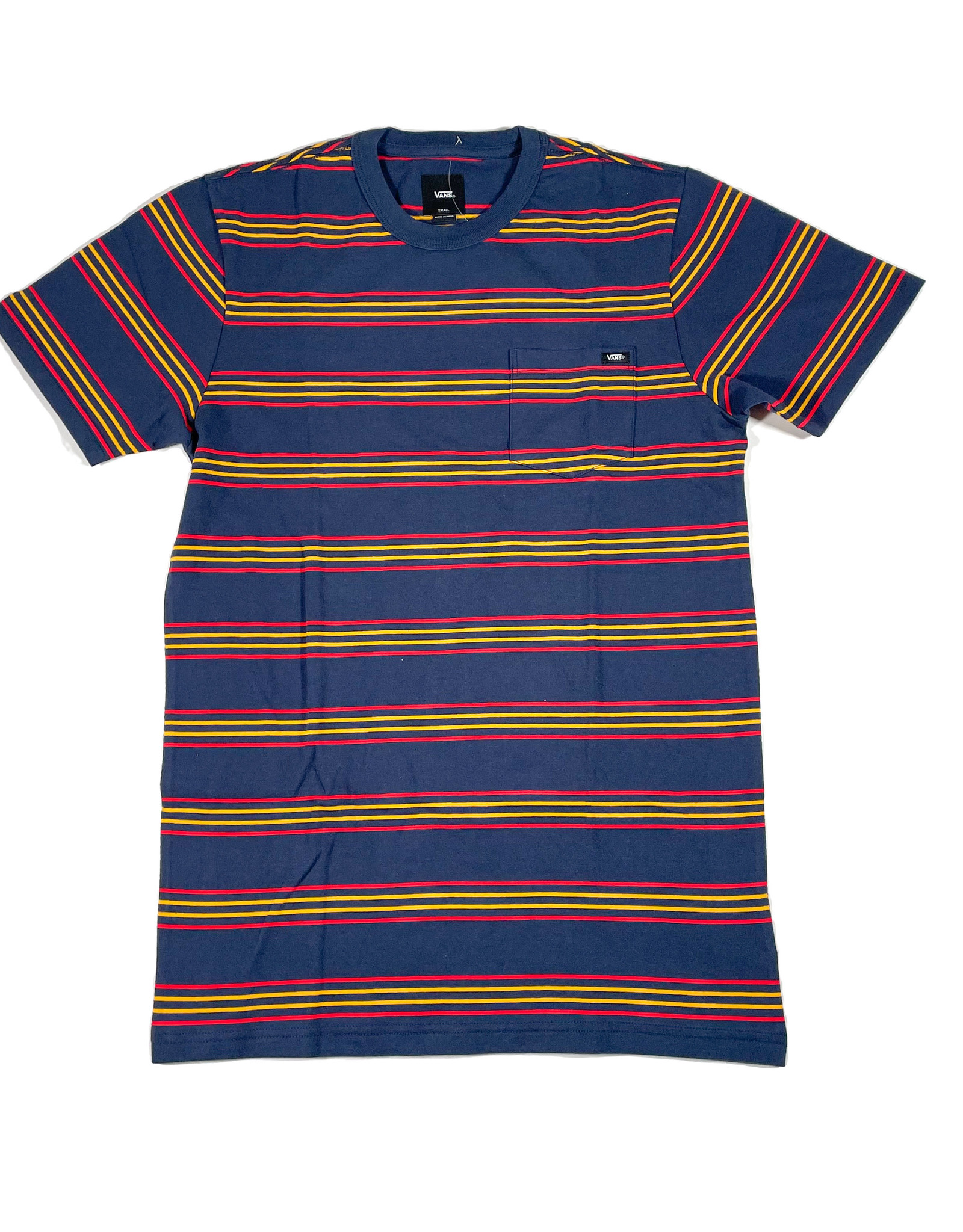 VANS VANS CHAPARRAL STRIPE SHIRT - DRESS BLUES