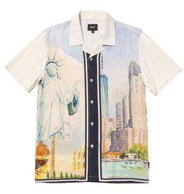 HUF PRESTIGE S/S RESORT SHIRT - WHITE
