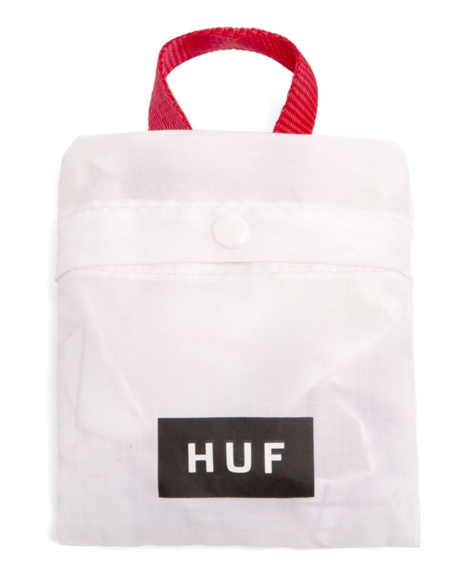 HUF FUCK IT PACKABLE BODEGA BAG - WHITE