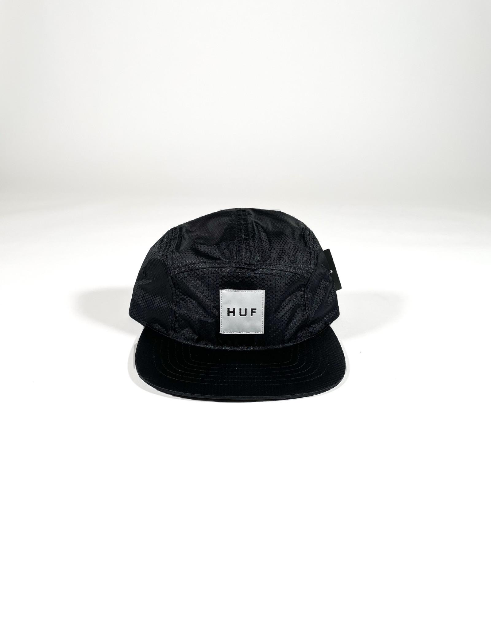 HUF HEXAGON VOLLEY - BLACK