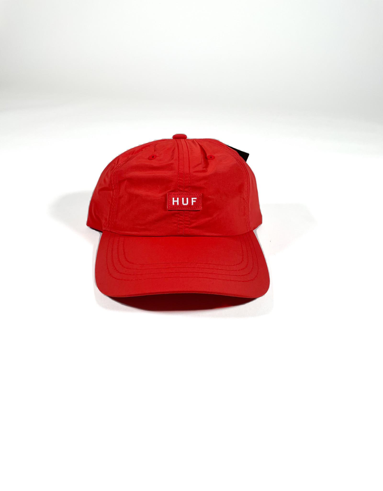 HUF FUCK IT INTL CV 6 PANEL HAT - POPPY