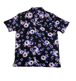 HUF DAZY S/S BUTTON RESORT SHIRT - BLACK