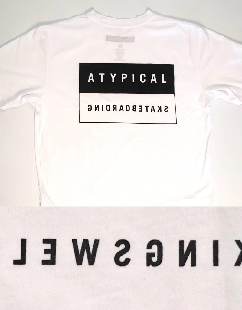 KINGSWELL KINGSWELL ATYPICAL TEE - WHITE