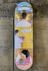 SKATE MENTAL JARNE FLOWERS DECK - 8.25