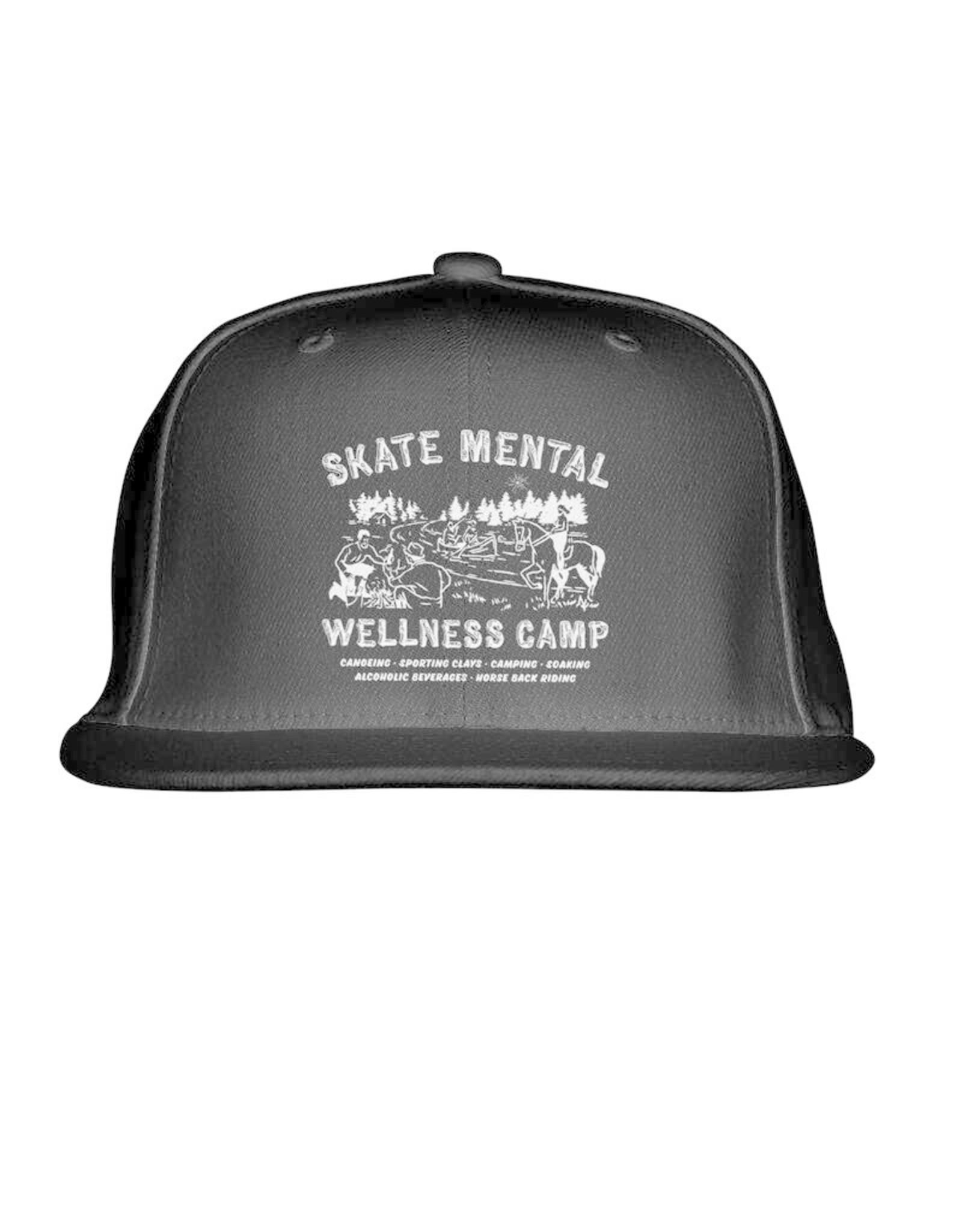 SKATE MENTAL WELLNESS HAT - BLACK
