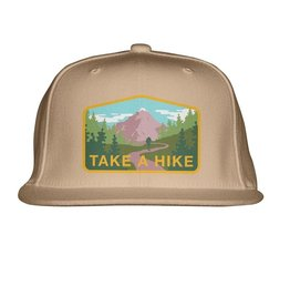 SKATE MENTAL TAKE A HIKE HAT -  TAN