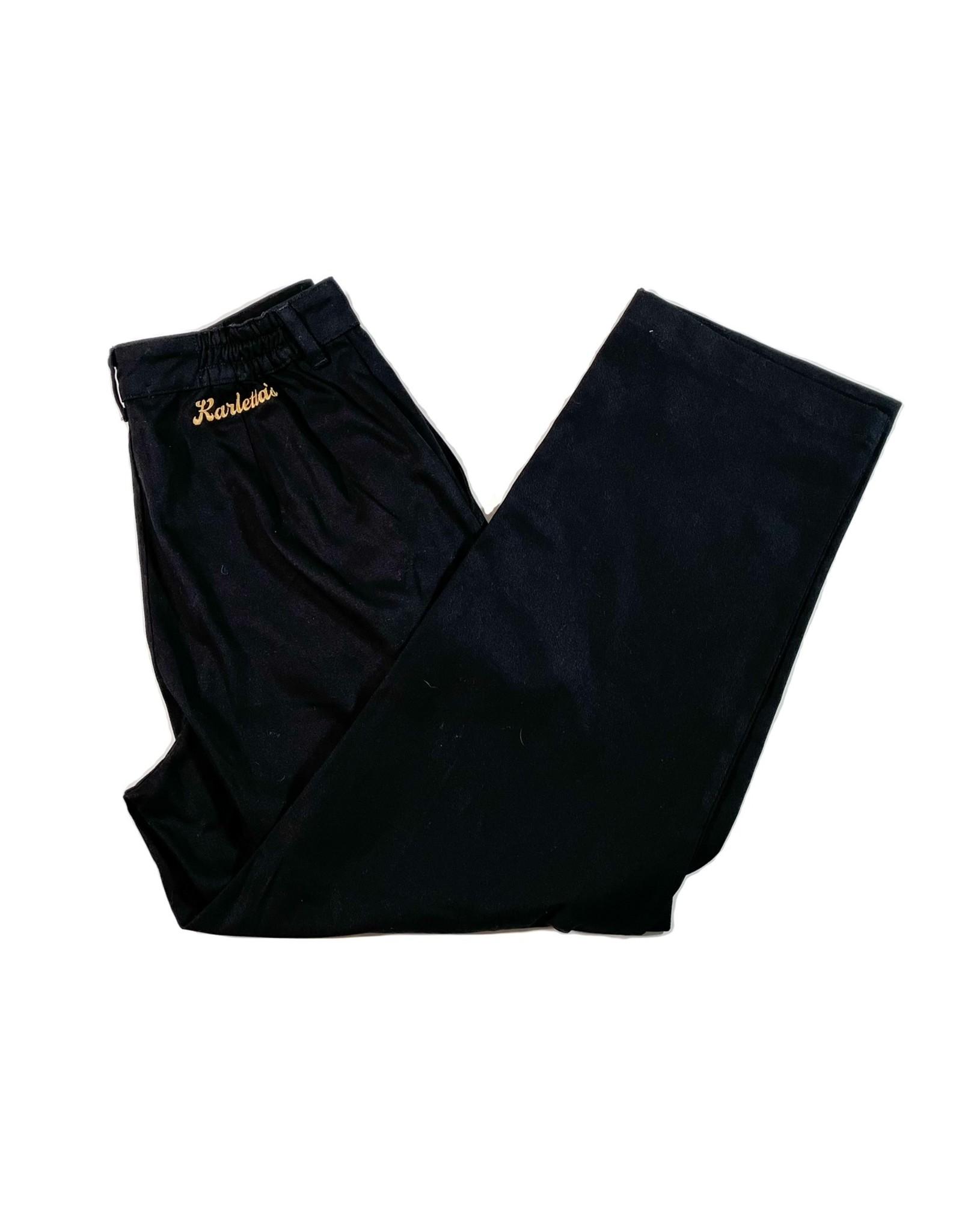KARLETTA'S KARLETTA'S HIGH RISE PANT - BLACK