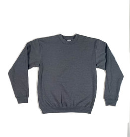 KINGSWELL KINGSWELL ORIGINALS CREW NECK - CHARCOAL BLACK
