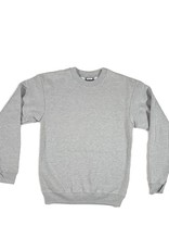 KINGSWELL KINGSWELL ORIGINALS CREW NECK - HEATHER GREY