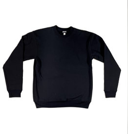 KINGSWELL KINGSWELL ORIGINALS CREW NECK - BLACK