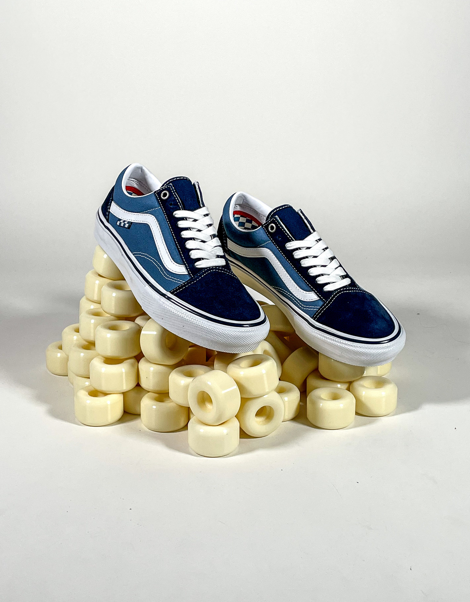 VANS VANS SKATE OLD SKOOL - NAVY/WHITE