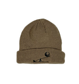 LESS THAN LOCAL LESS THAN LOCAL LESS IS MORE BEANIE - TAN