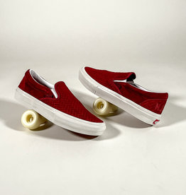 VANS VANS SKATE SLIP-ON (NJ) - BRICK/WHITE