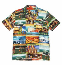 HUF STAGES S/S RESORT SHIRT - MULTI