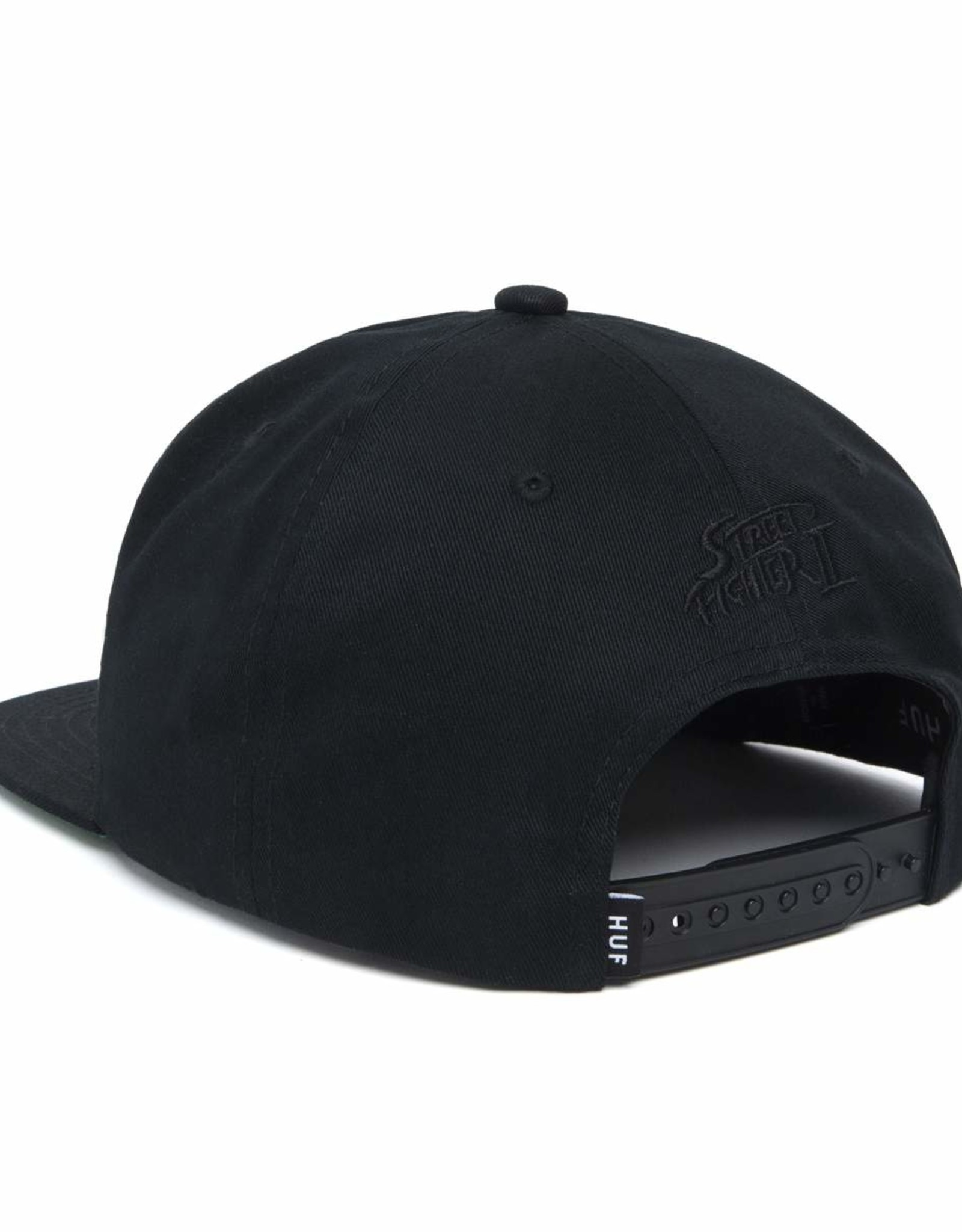 HUF CHUN-LI SNAPBACK HAT - BLACK