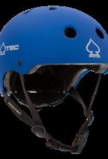 PRO-TEC JR CLASSIC FIT CERTIFIED MATTE METALLIC BLUE HELMET - YOUTH SMALL