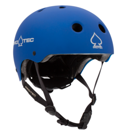 PRO-TEC JR CLASSIC FIT CERTIFIED MATTE METALLIC BLUE HELMET - YOUTH SMALL