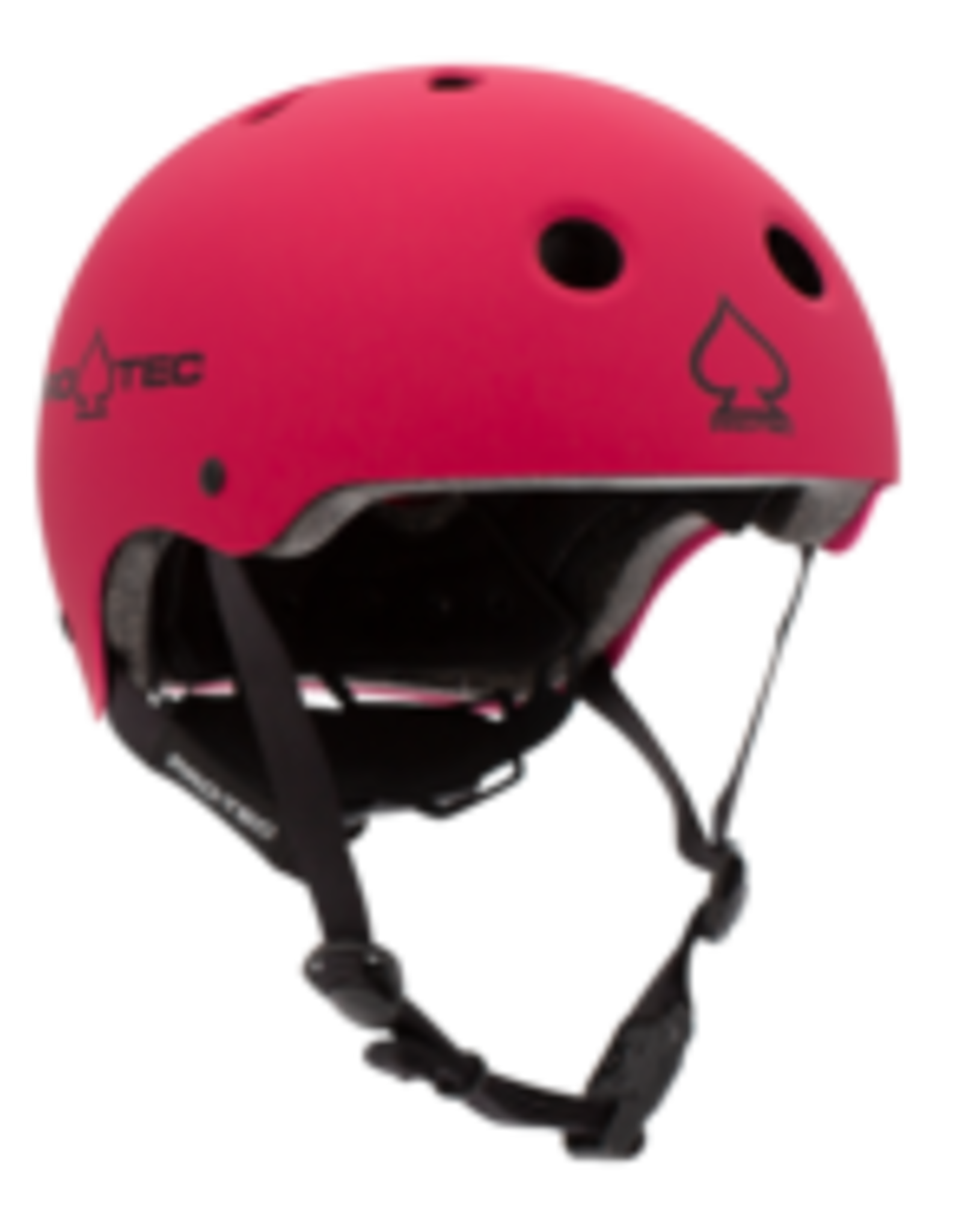 PRO-TEC JR CLASSIC FIT CERTIFIED MATTE PINK HELMET - YOUTH SMALL