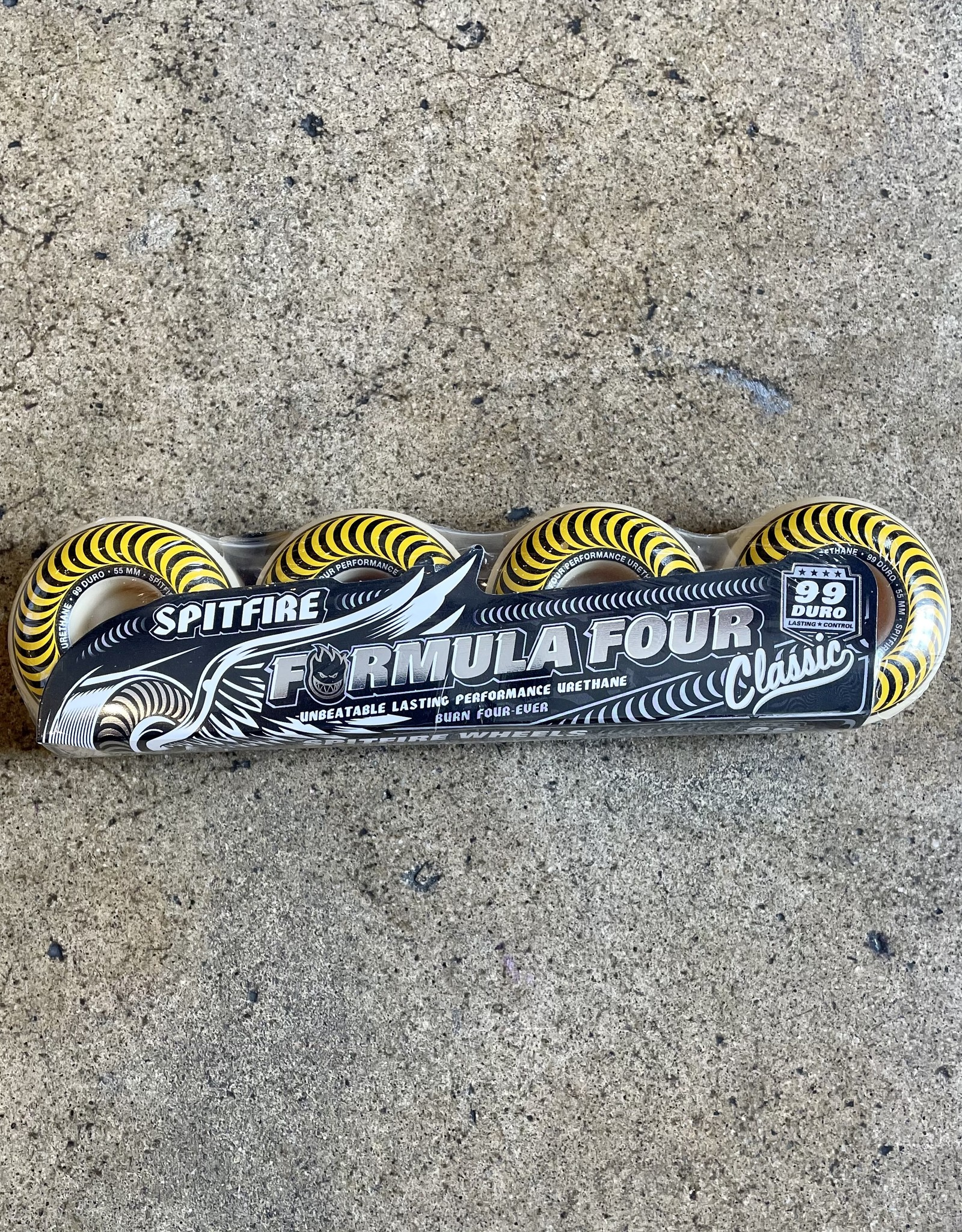 SPITFIRE F4 99 CLASSIC (YELLOW) - 55MM
