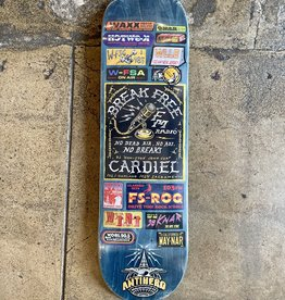 ANTI HERO ANTI HERO CARDIEL BROADCASTING DECK - 8.62