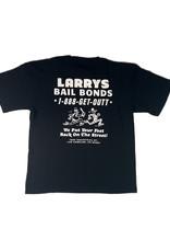 ROBERT LEBLANC LARRY'S BAILS BOND TEE - BLACK