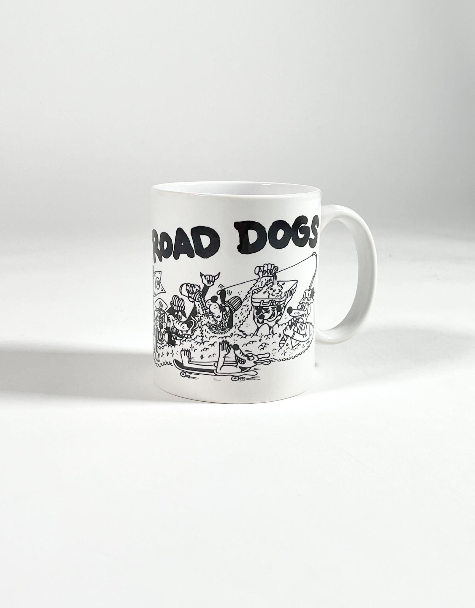 THE ROAD IS LIFE ROAD DOGS COFFEE MUG