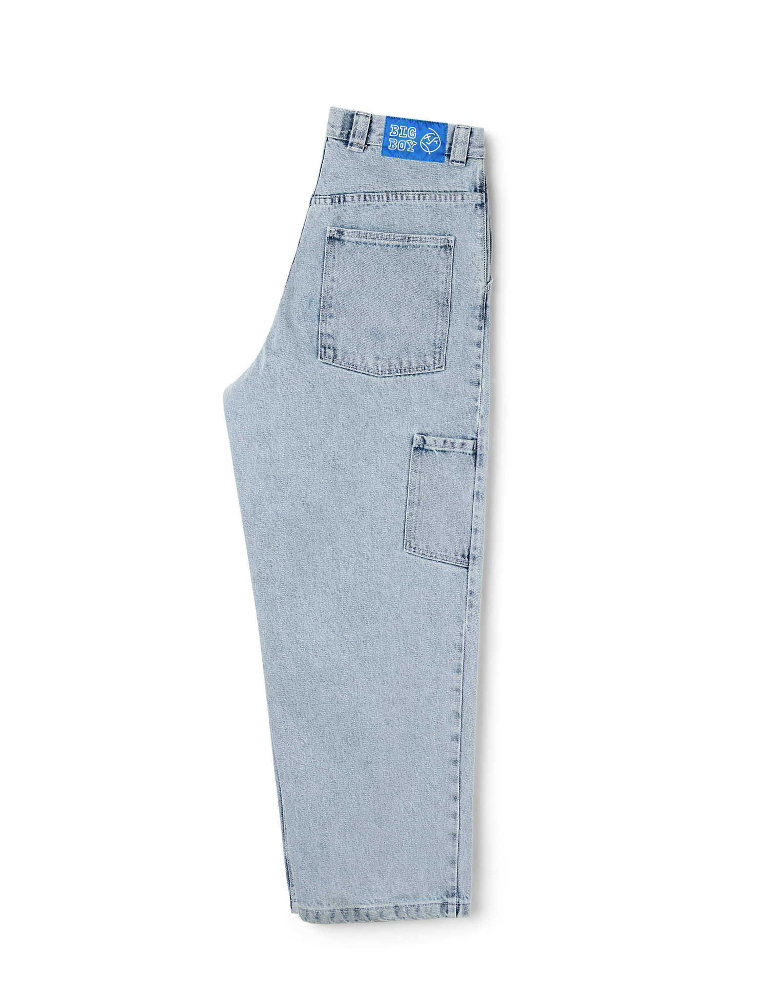 POLAR BIG BOY WORK PANTS - LIGHT BLUE