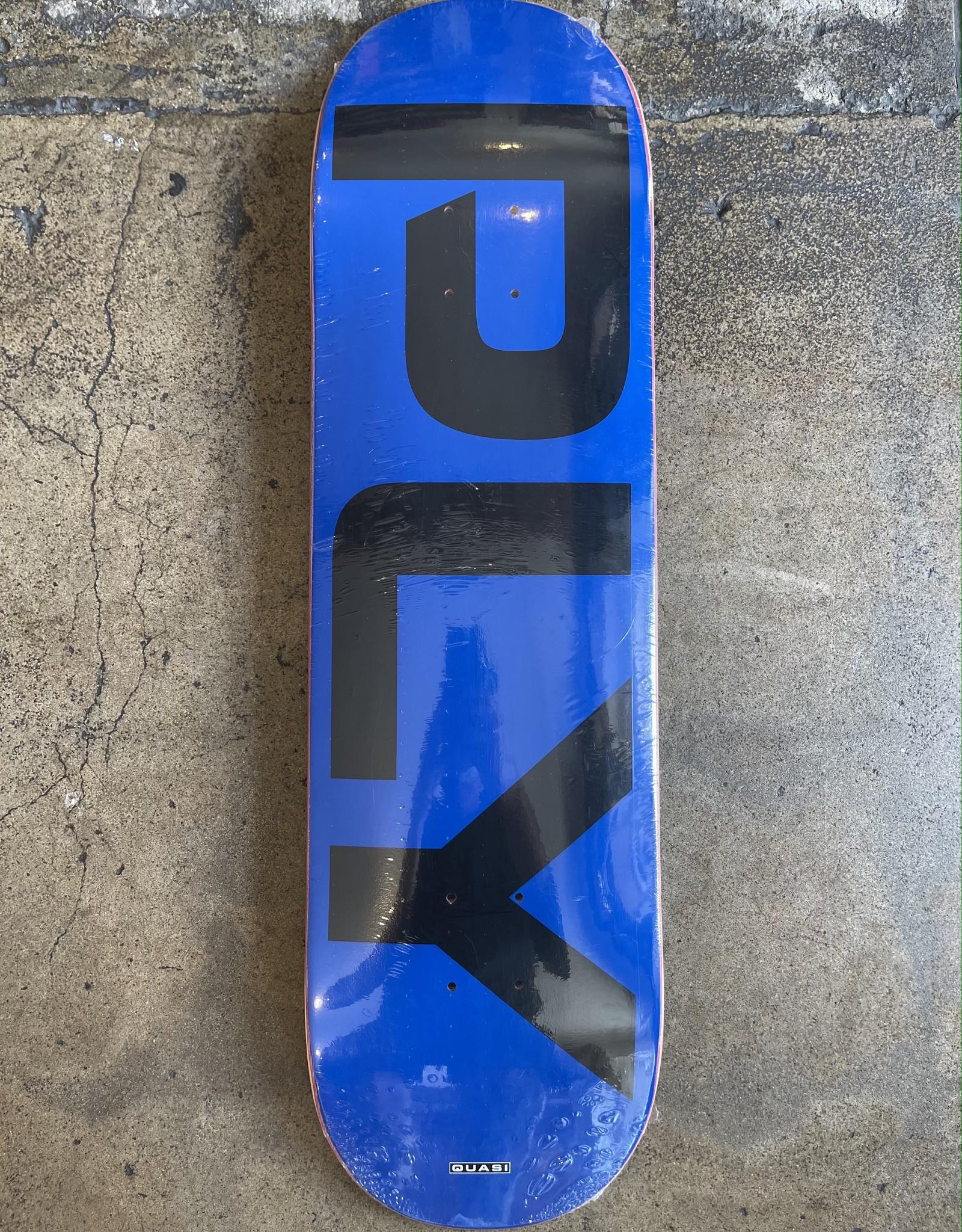 QUASI SKATEBOARDS QUASI PLY DECK - 8.625 - BLUE