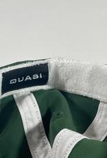 QUASI SKATEBOARDS QUASI 6 PANNEL LETTER HAT - FOREST