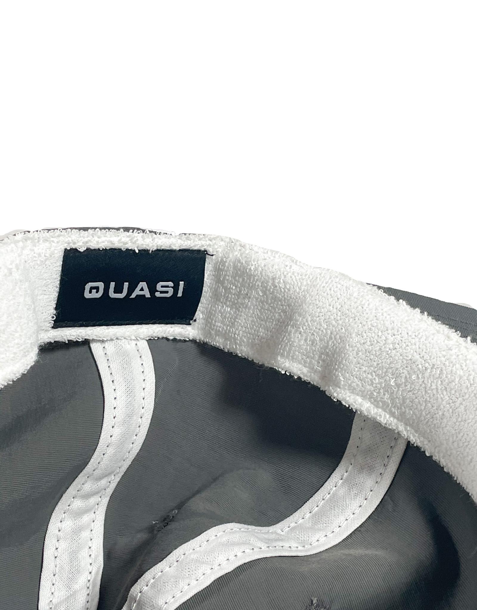 QUASI SKATEBOARDS QUASI 6 PANNEL LETTER HAT - GREY