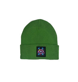 WKND ZOOTED BEANIE - GREEN