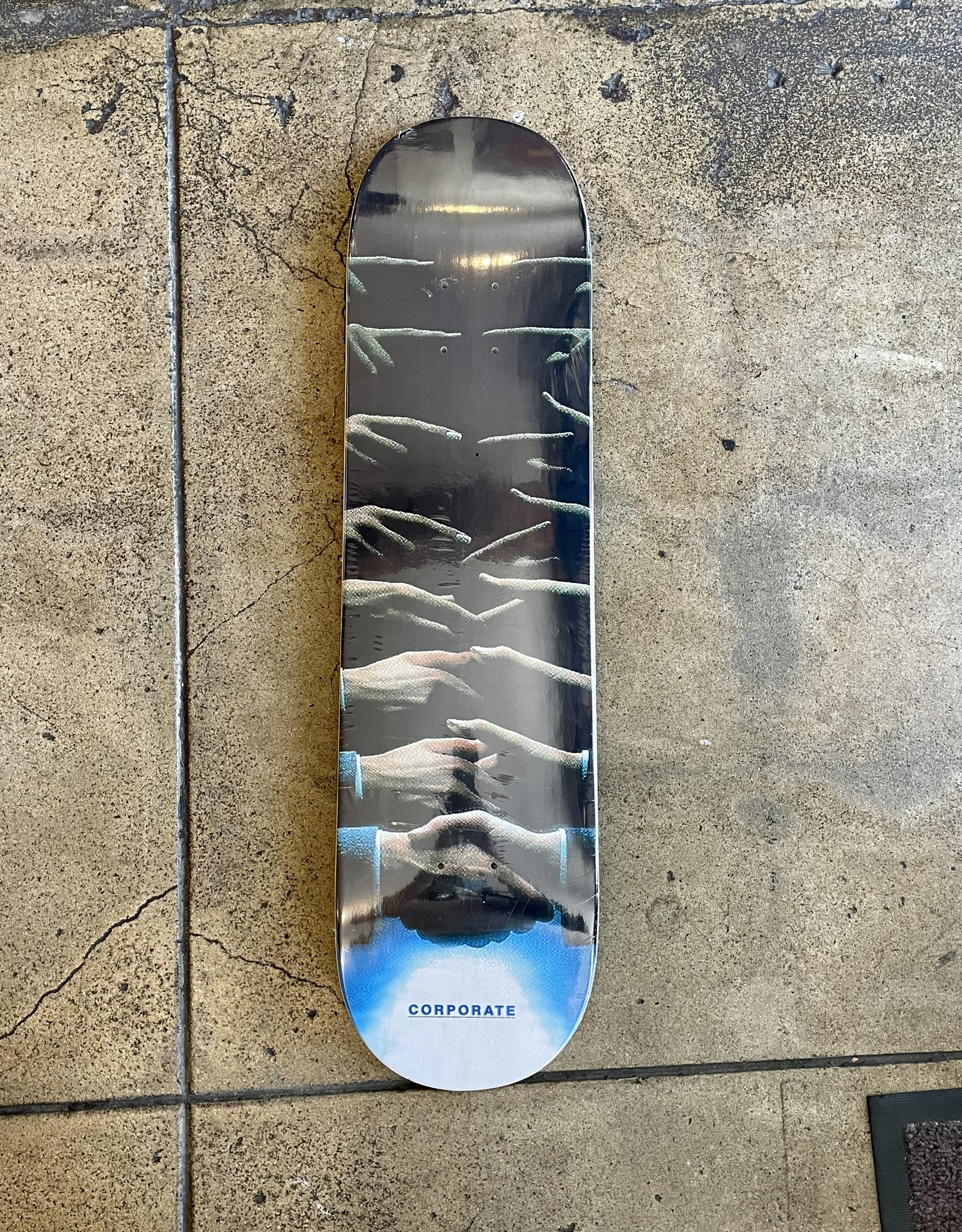 CORPORATE SKATEBOARDS CORPORATE THESE HANDS DECK