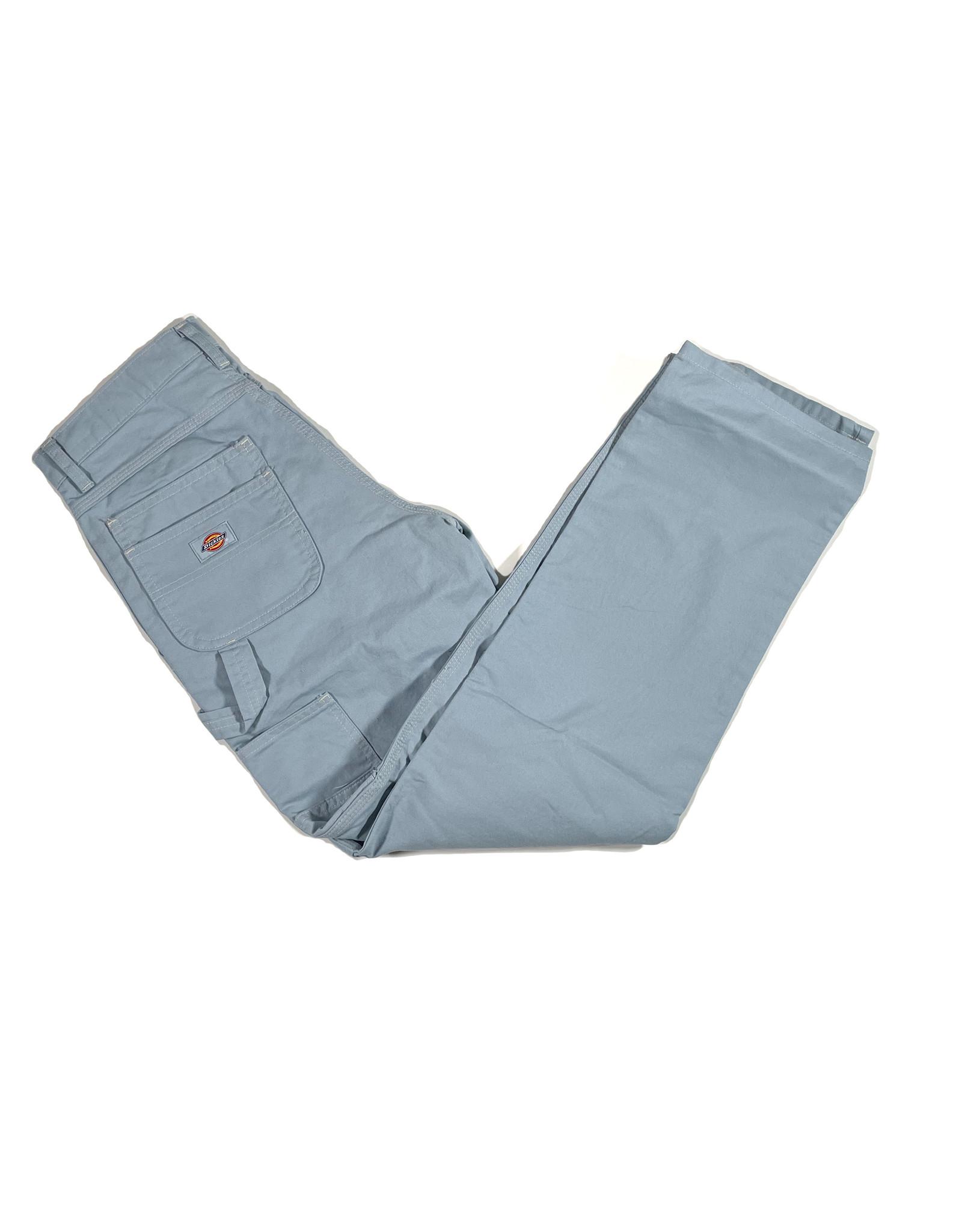 DICKIES DICKIES SUSTAINABLE WASHED UTILITY PANTS - STONEWASHED FOG BLUE