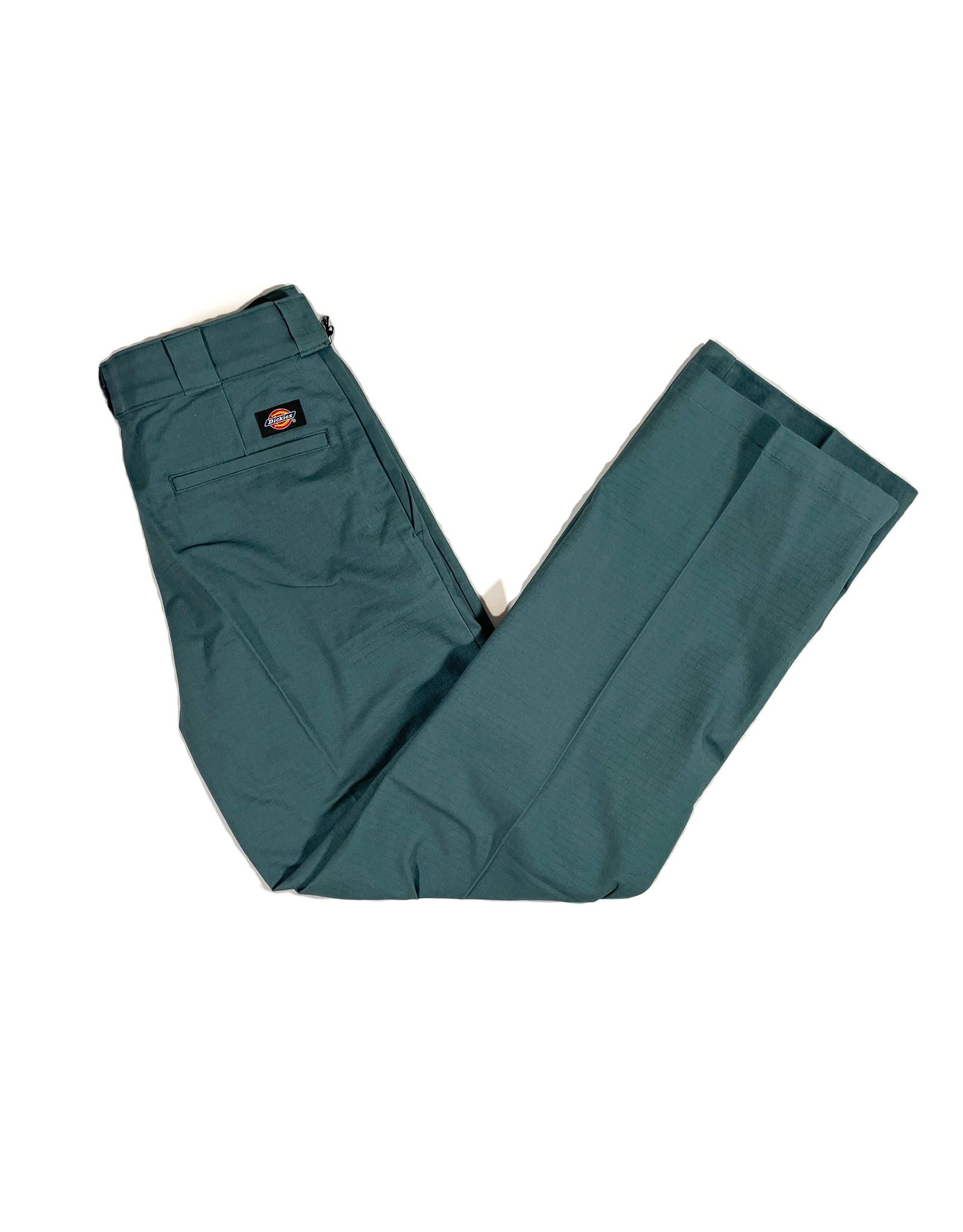 DICKIES DICKIES SLIM TAPER TWILL PANTS - LINCOLN GREEN