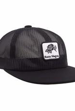 HUF ROSA NEGRA SNAPBACK - BLACK