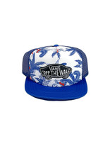 VANS VANS CLASSIC PATCH TRUCKER HAT - MARKET PRINT