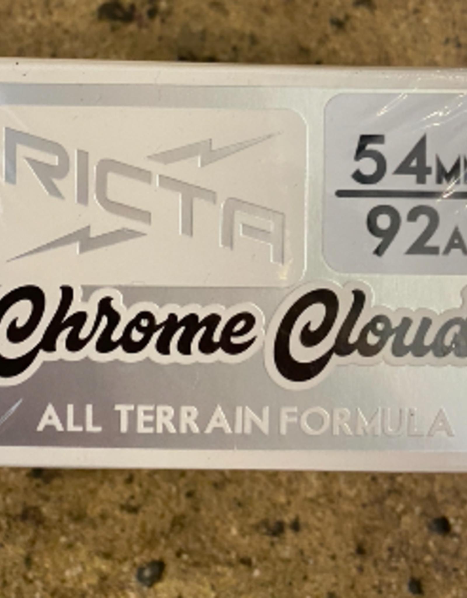 RICTA RICTA CHROME CLOUDS BLACK 92A - 54MM