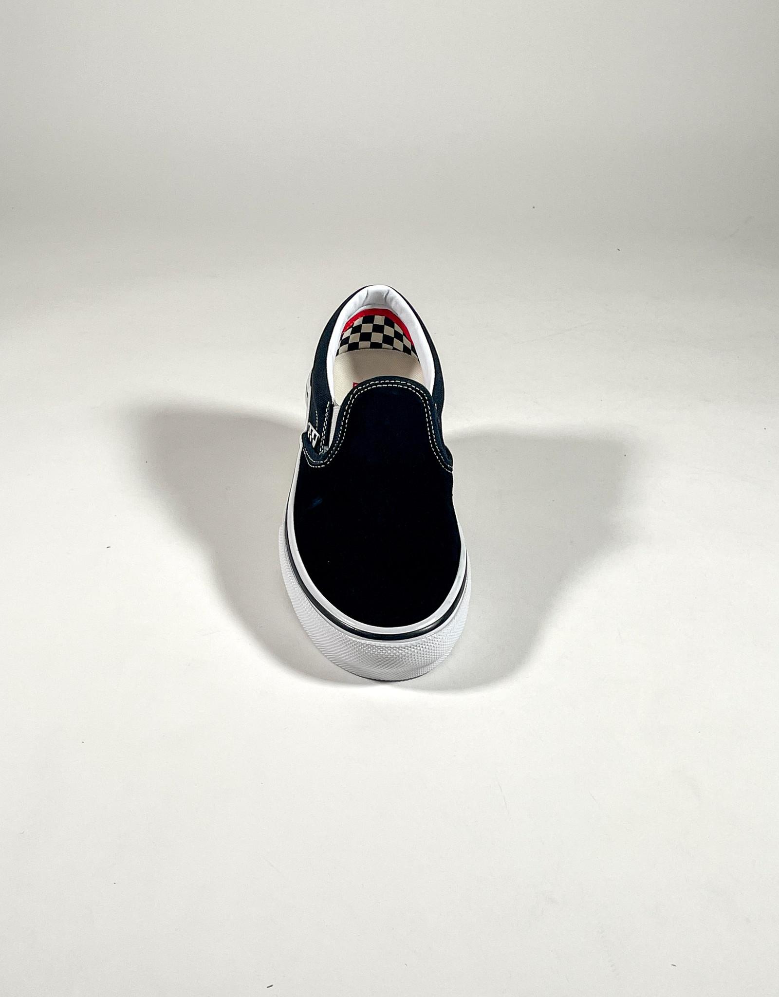VANS VANS SKATE SLIP ON - BLACK/WHITE