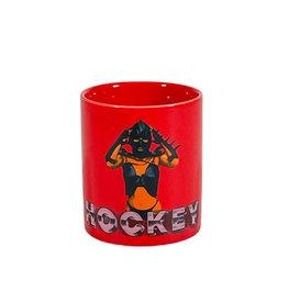 HOCKEY GWENDOLINE MUG - RED