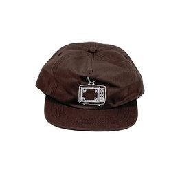 WKND TV LOGO CAP - BROWN