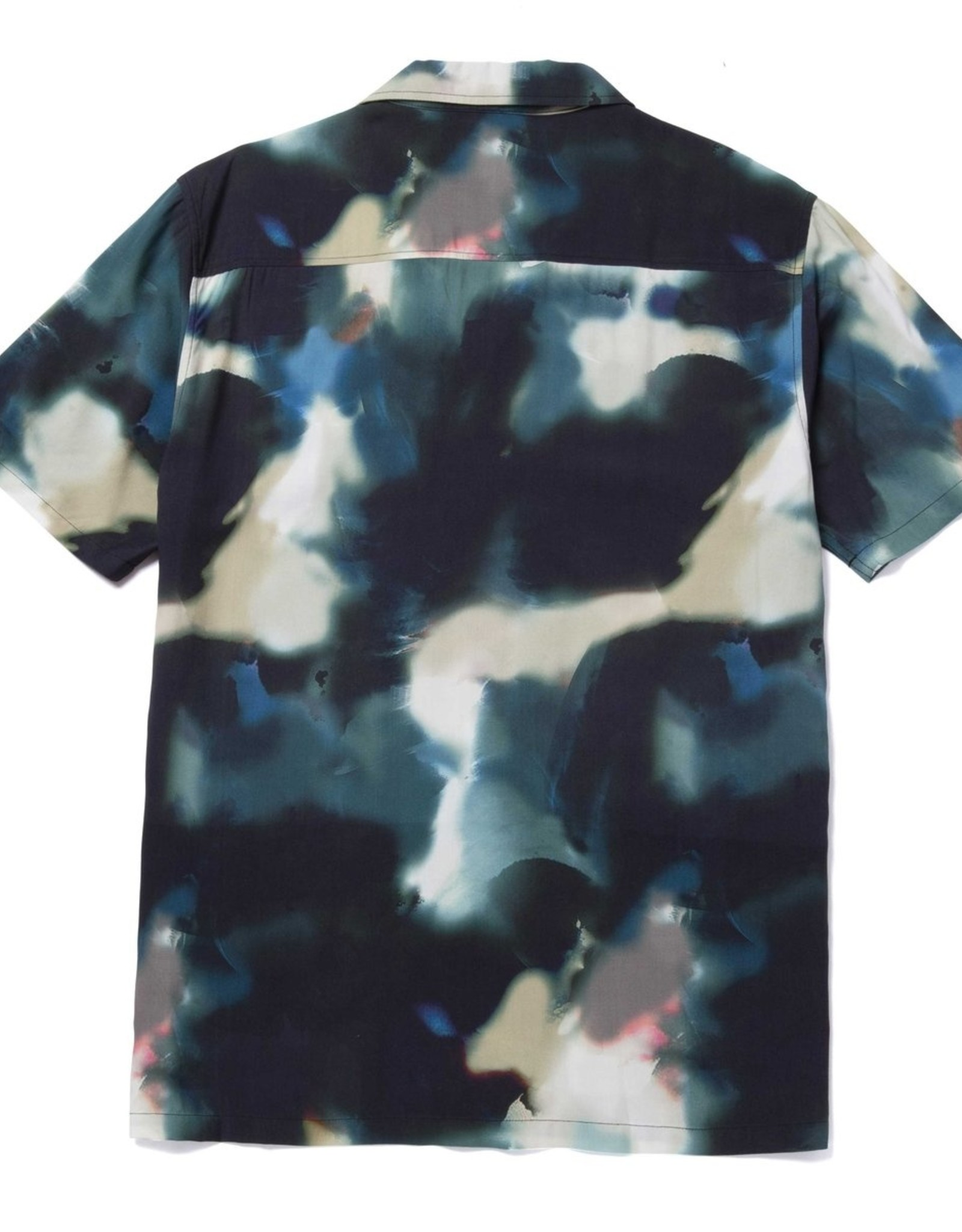 HUF ABSTRACT S/S RESORT TOP - SYCAMORE
