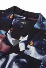 HUF OPTIC S/S RESORT TOP - BLACK