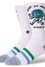 STANCE STANCE WORLDS BEST BOSS SOCK - WHITE