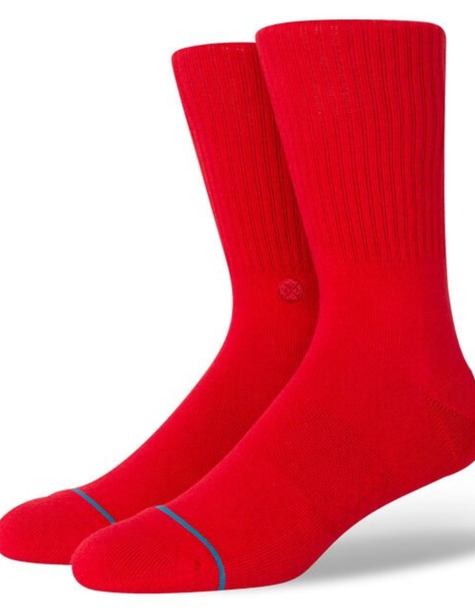 STANCE STANCE ICON SOCK - RED