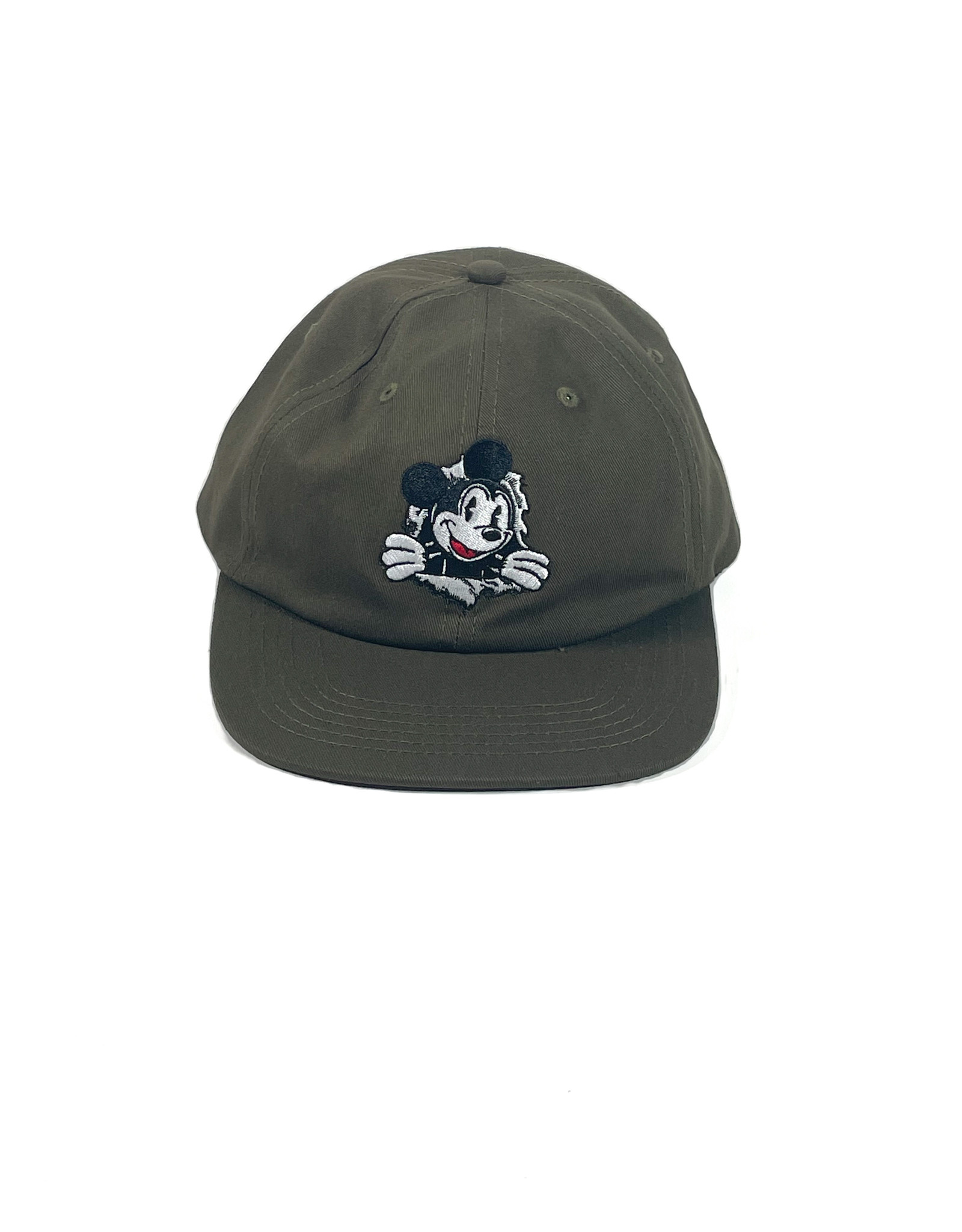 KINGSWELL KINGSWELL MOUSE RIPPER 6 PANEL HAT - OLIVE