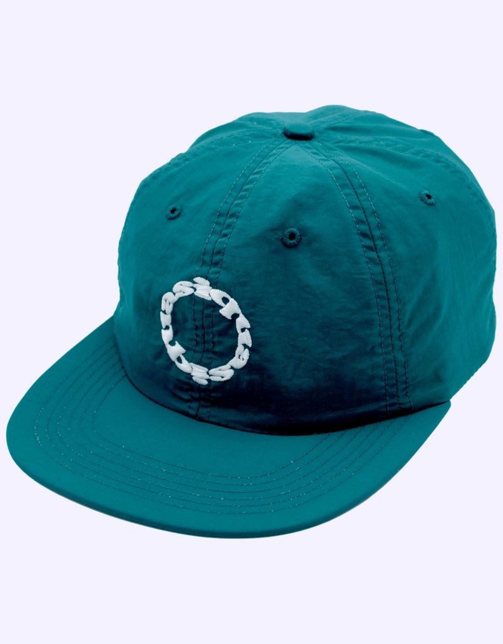 QUASI SKATEBOARDS QUASI TRAX 6 PANNEL HAT - TEAL